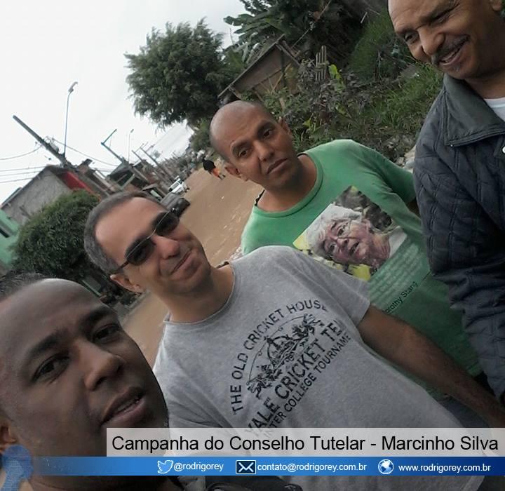 Campanha do Conselho Tutelar com Marcinho Silva.