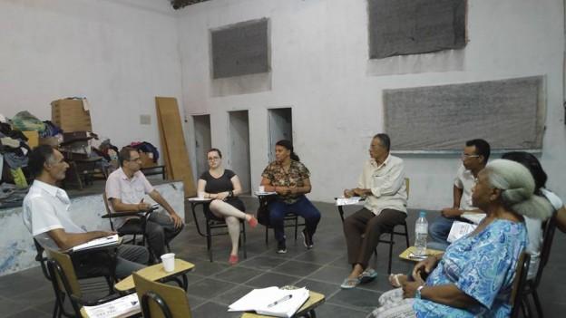 Reunião na Assoc. de Vila Itaim