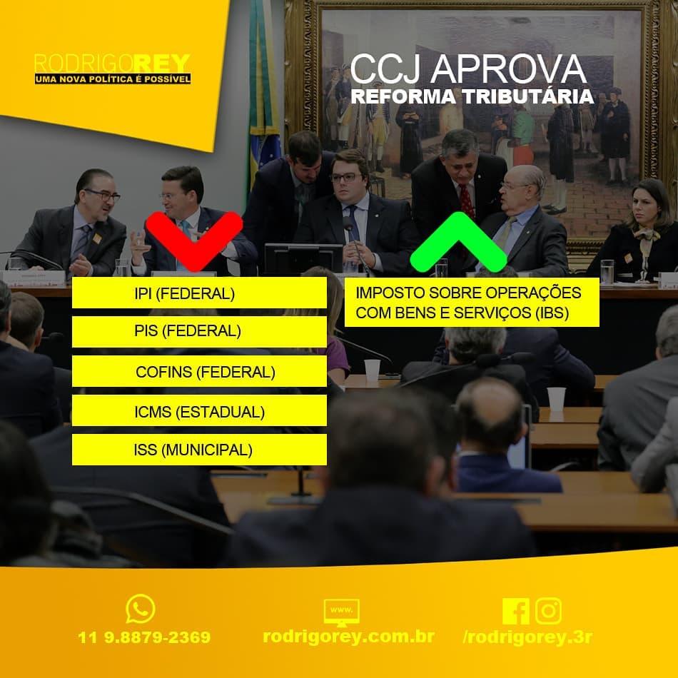 CCJ aprova reforma tributária