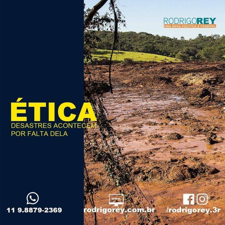 Read more about the article Ética, desastres acontecem por falta dela