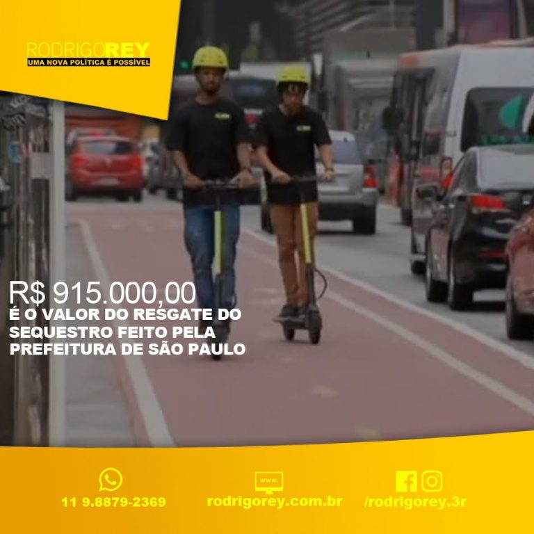 Read more about the article Sequestro dos patinetes pela prefeitura de São Paulo