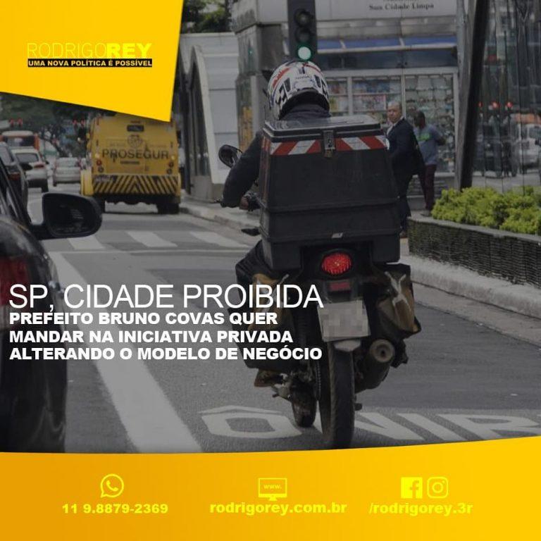 São Paulo, a cidade proibida